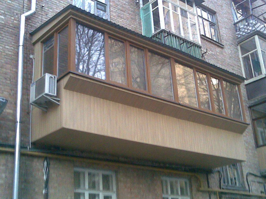 Балкон под ключ все виды работ